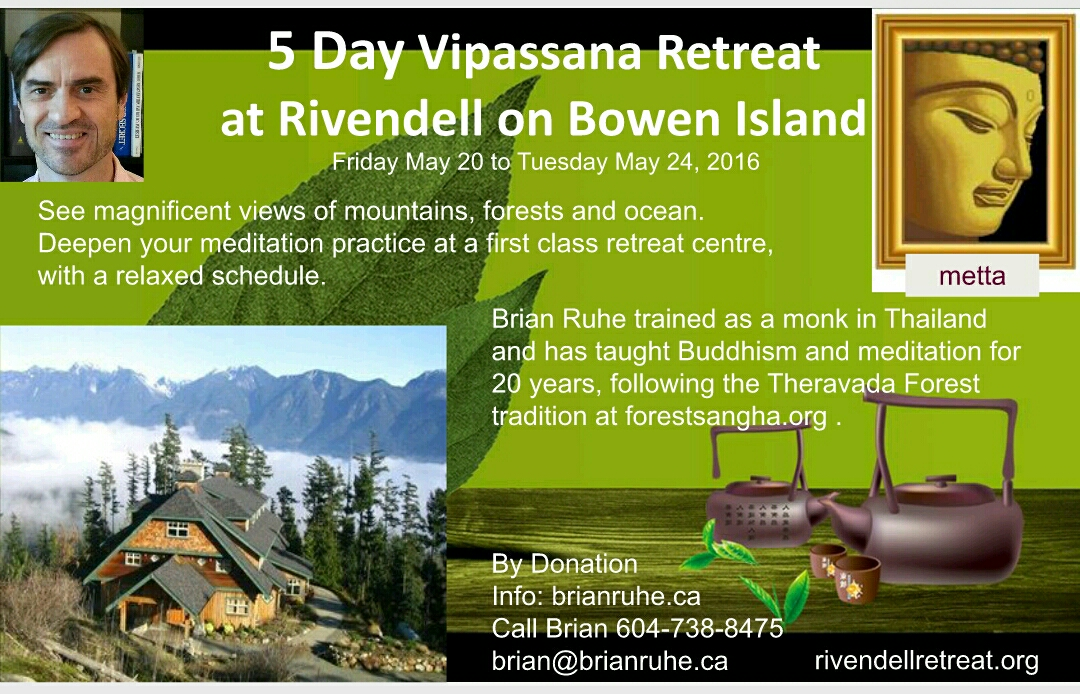Rivendell 5 Day Retreat 2016 Poster